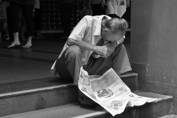 Headlines: Engrossed in the news