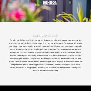 Benson Property