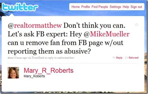 Marys tweet