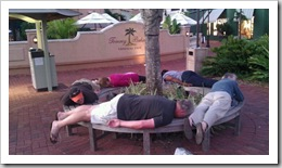 Group Planking