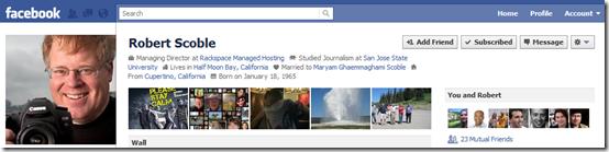 Robert Scoble's Profile