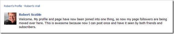 Robert's Status Update
