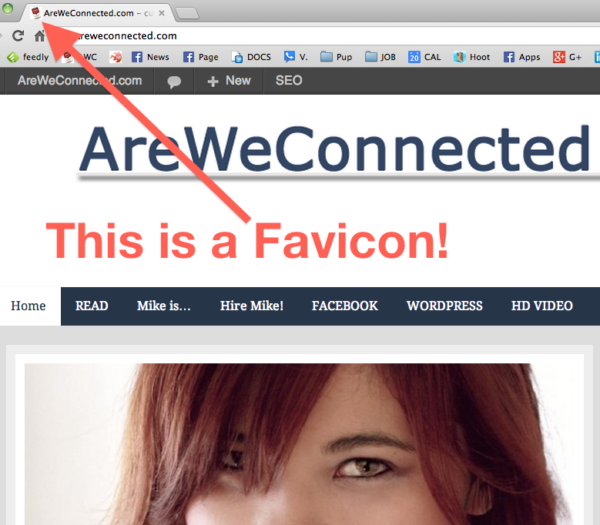 AreWeConnected.com Favicon