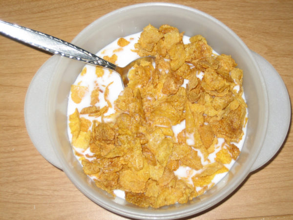 Crying in your Corn Flakes