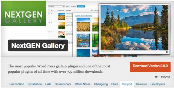 NextGen Gallery 2.0