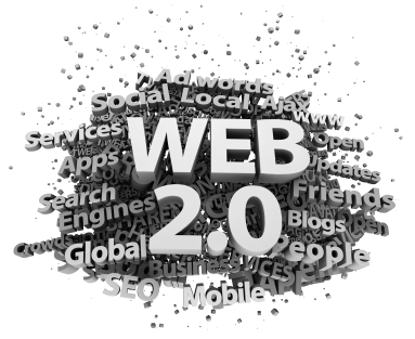 Word cloud for Web 2,0