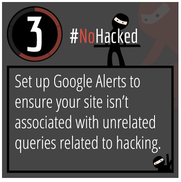 Google NoHacked tip #3