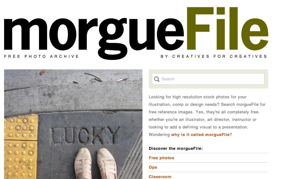 The Morgue File