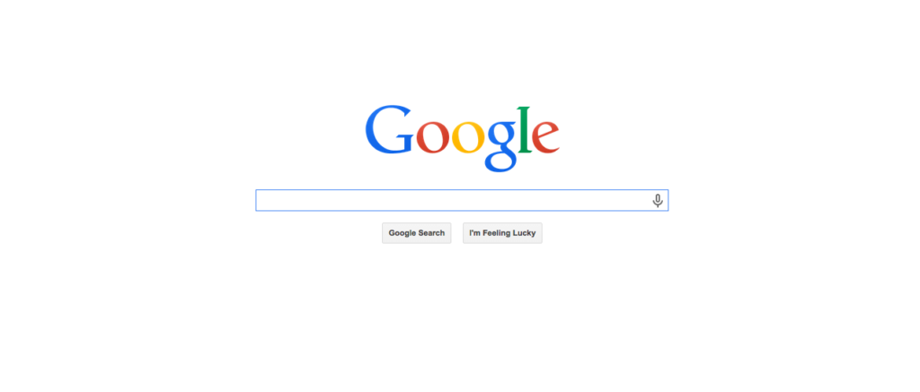 Google's Front Page