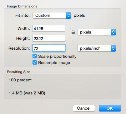Full size image was almost 2MB