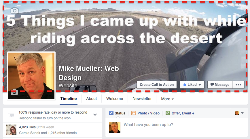Your Facebook Cover Image
