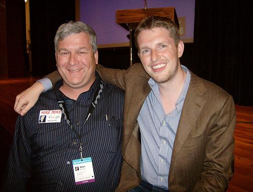 Matt Mullenweg and Mike Mueller