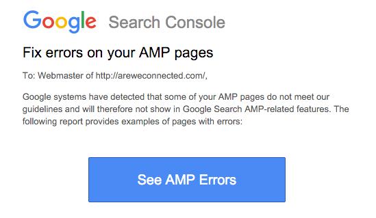 Amp'd Errors