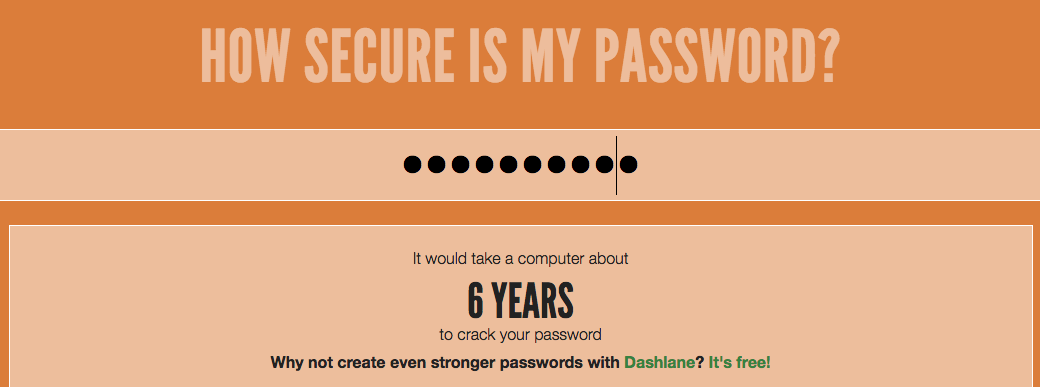 """How secure is """"PA$$W0R14D"""""""