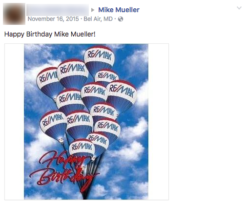 This was a real birthday wish