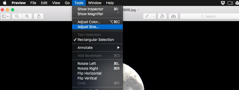 tools adjust size