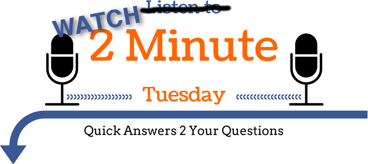 Watch 2 Minute Tuesday