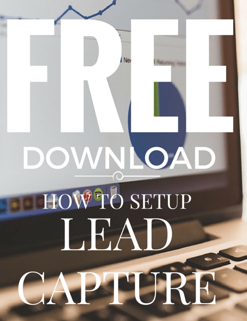 How to setup lead capture