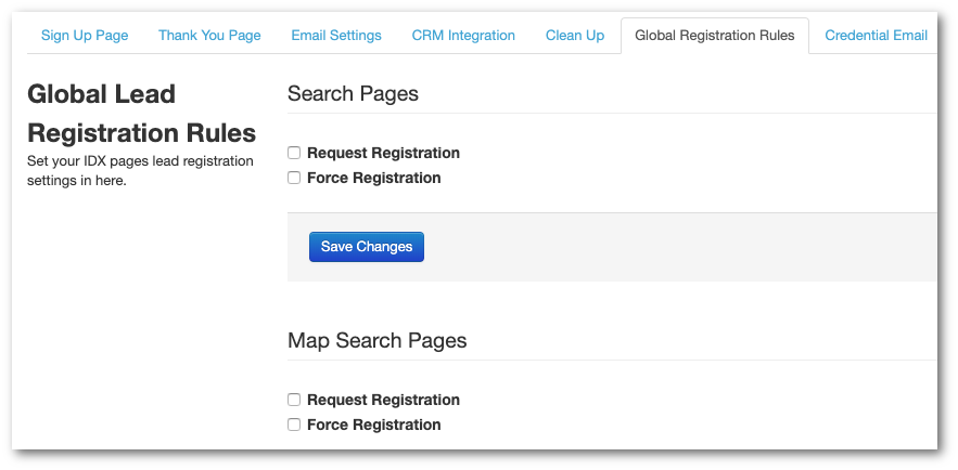 Do you force or Request Registration?